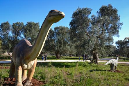World of Dinosaurs in mostra a Francavilla Fontana