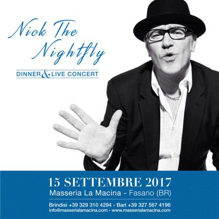 Nick The Nicghtfly in concerto