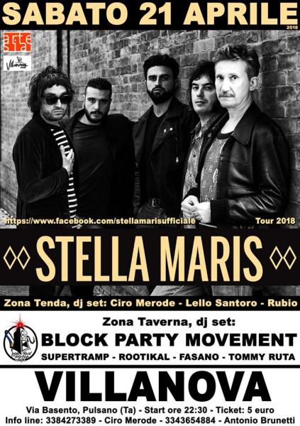 Stella Maris in concerto + Double Zone Dj Set