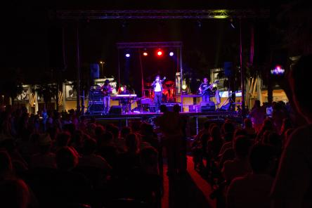 Gli Off The Wall, tribute band Michael Jackson, a Tenuta Santa Lucia